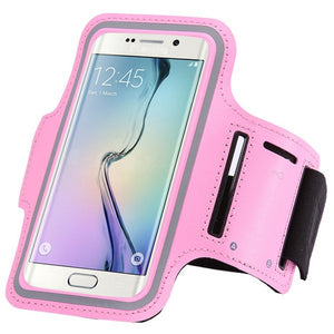 Waterproof Sports Running Arm Band Case For Samsung Galaxy
