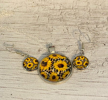 Load image into Gallery viewer, Leopard Sunflower Set