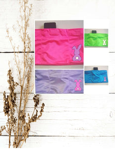 Bunny Decal Color  Insulin Pump Band-Running Band