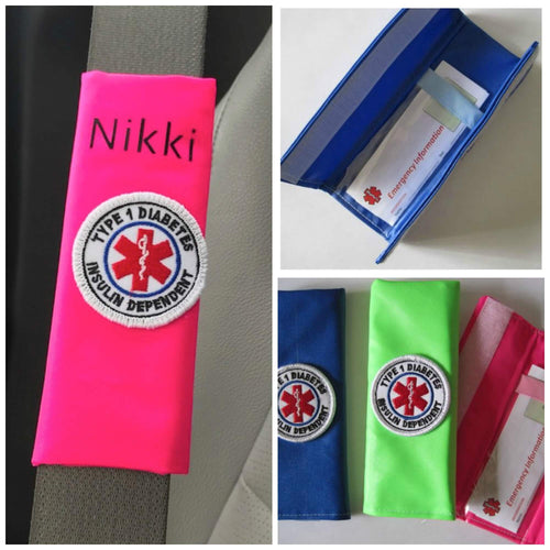 Personalized Patch Seat Belt Alerts