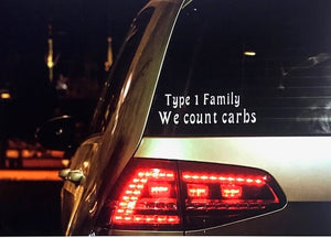 Type 1 Family Car Decal