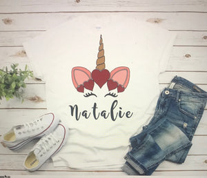 Unicorn Personalized Shirt