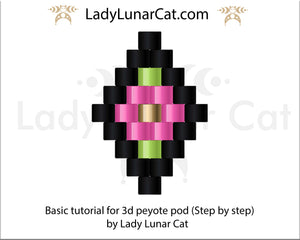 Peyote 3D pod - Basic instruction