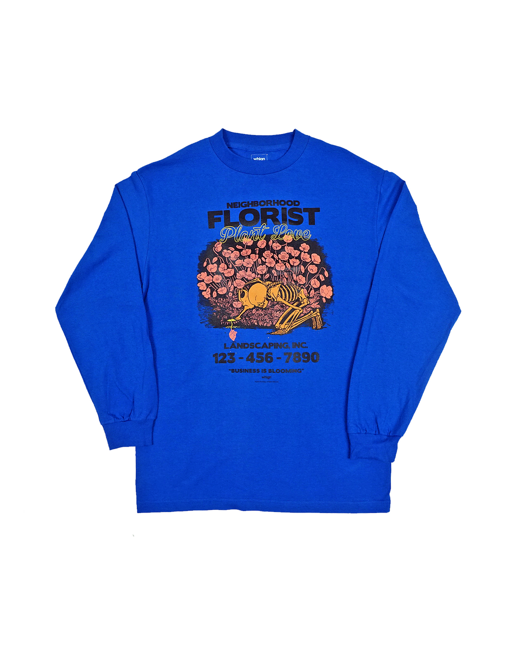 Neighborhood Florist  — T Shirt — Royal Blue