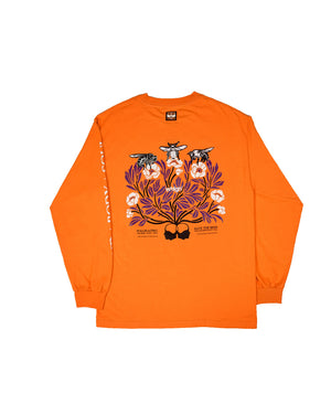 Save the Bees — T Shirt — Orange