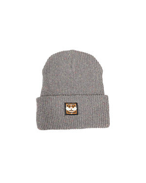 Speckled Cement — Knitted Beanie