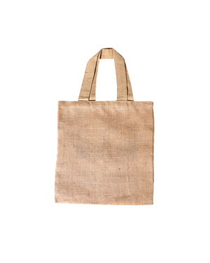 Hope Dealer — Burlap Tote Bag