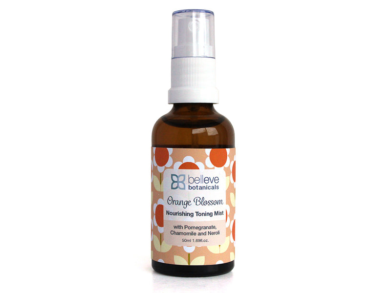 ORANGE BLOSSOM Nourishing Toning Mist - with Vitamin C, Colloidal Oatmeal and Liquorice Root  (coming soon)