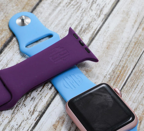Engraved Apple Watch Band - Initials / Name