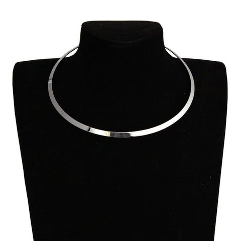 Metal Collar Necklaces