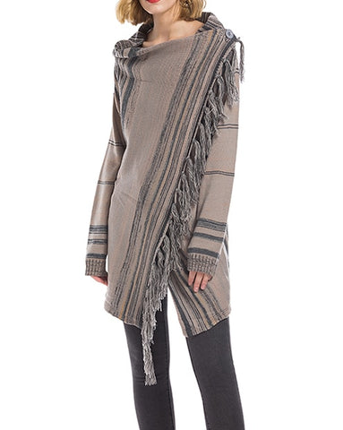 Boho Tassels Jackets Coat
