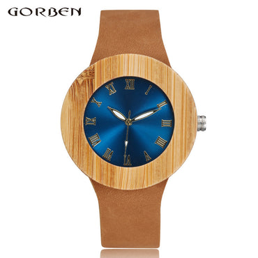 Creative Natural Bamboo Watch