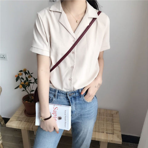 Long Sleeve Fashion Casual Blouse