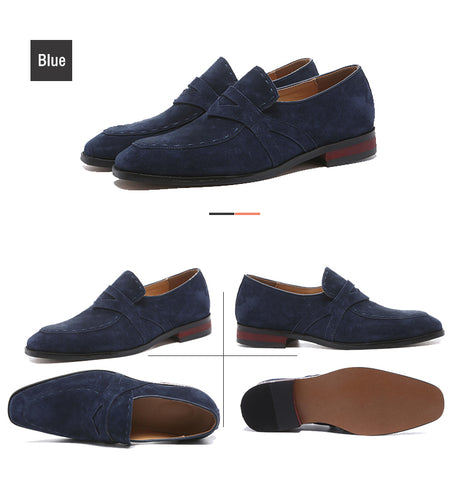 Casual Suede Oxford Dress Shoes