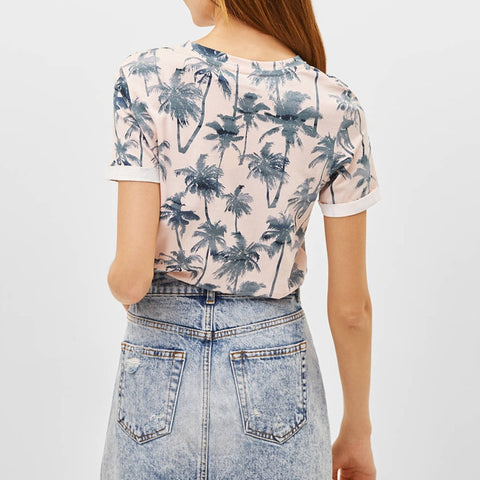 New Floral Print T Shirt