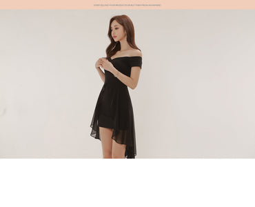 Mini Black Dress