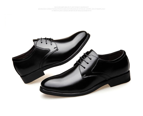Classic Leather Suits Shoes