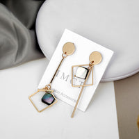 Simple Asymmetrical Earring