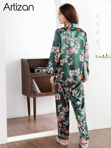 Satin Silk Pajamas