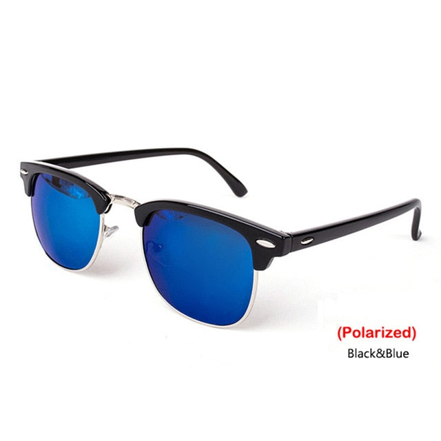 Semi-Rimless Brand Designer Sunglasses