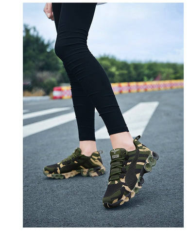 Camouflage Fashion Sneakers