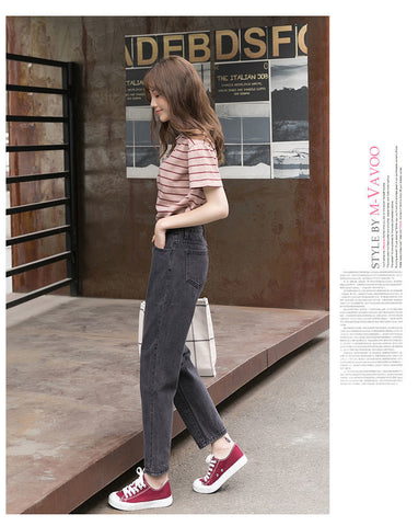 Trendy Korean Style Simple All-match Trousers
