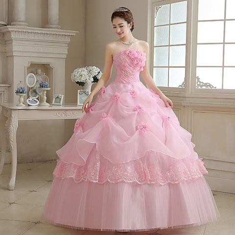 Sweetheart Princess Straplees Dress