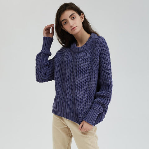 Knitted Chunky Oversized Sweater