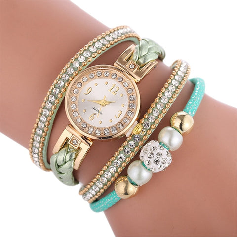 Button Bracelet Watch