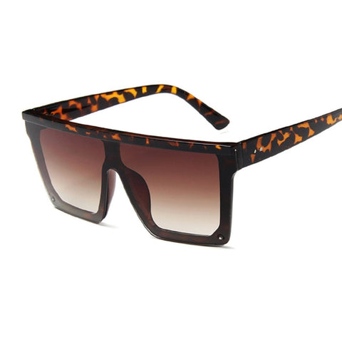 Big Frame Fashion Retro Mirror Sun Glasses