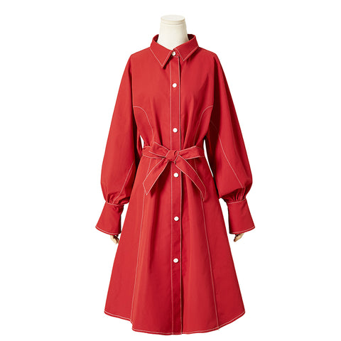 Trench Coat Style  Shirt Dresses