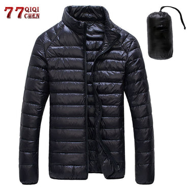 Casual Stand Collar Ultra Light Jacket