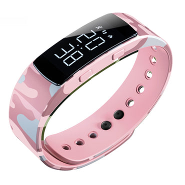 Fashion Camouflage Luminous Clock Digital Watch