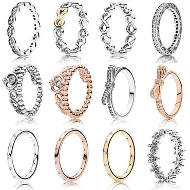 12 Style Classic Rings