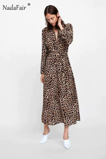 Tunic Elegant Leopard Dress