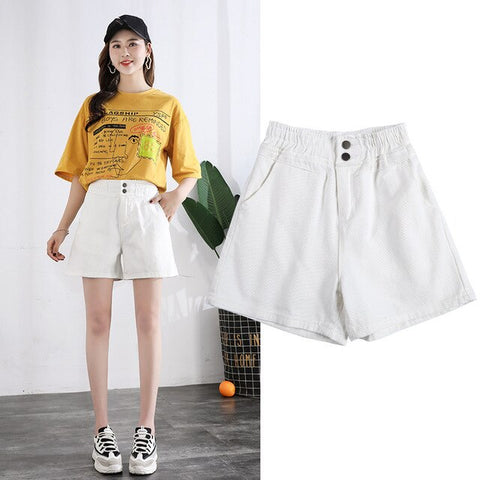 Latest Style Crimping Denim Shorts