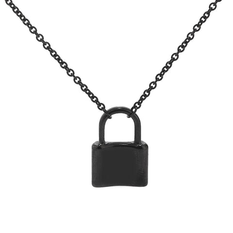 Lock Pendant Necklaces