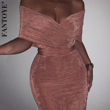 New Bandage Two-Piece Party Dress