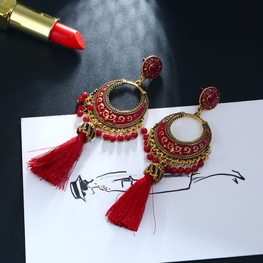 Bohemian Long Tassel Earrings