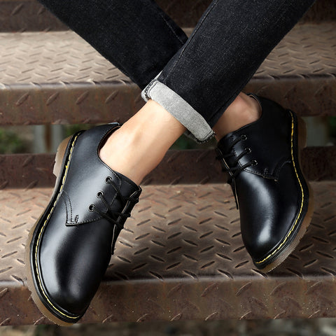 Fashion Genuine Leather Casual Shoes