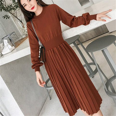 Korrean Sweater Dress