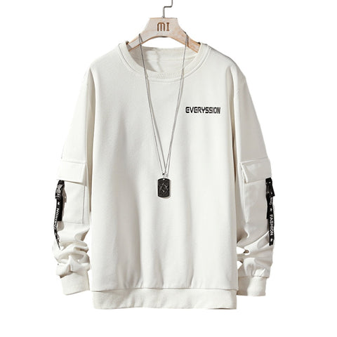 Hip Hop White Male Sweatshirt