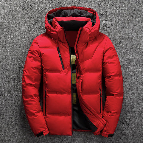 Fashion White Duck Down Jacket