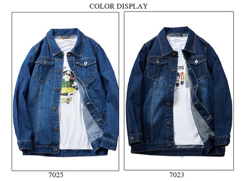 Casual Gold Style Personality Fashion Denim Jacket
