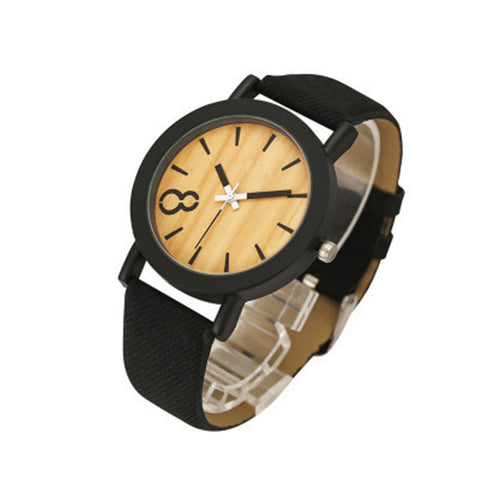Imitation Wood Grain Watch