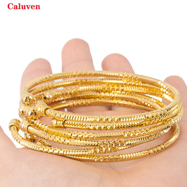 Jewelry Gold color Bangle&Bracelet