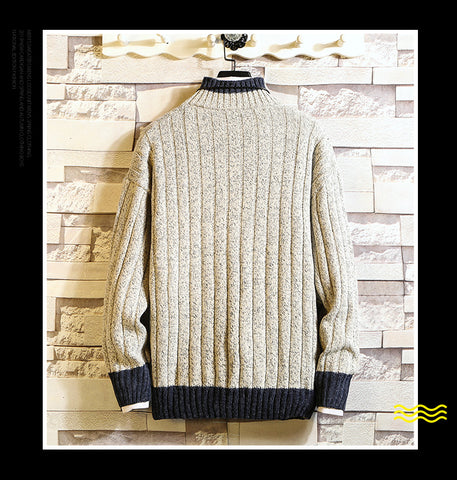 Fashion Long Sleeve Turtleneck Pullover Sweaters