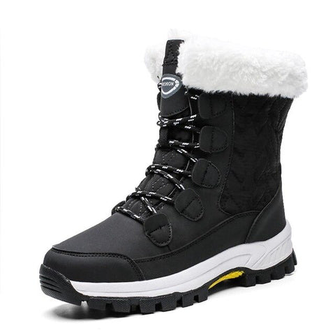 Waterproof Mid-calf Snow Boots