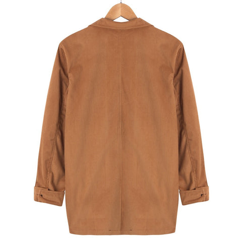 Fashion brown social jacket