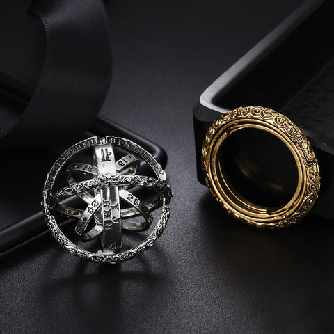 Astronomical Ball Vintage Ring